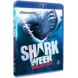 Shark Week: Fins of Fury Blu-ray Cover