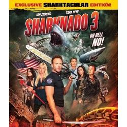 Sharknado 3: Oh Hell No! Blu-ray Cover