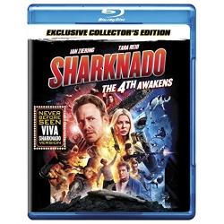 Sharknado: The 4th Awakens Blu-ray Cover
