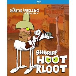 Sheriff Hoot Kloot Blu-ray Cover