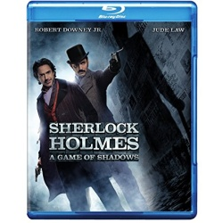 Sherlock Holmes: A Game of Shadows Blu-ray Cover