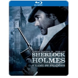 Sherlock Holmes: A Game of Shadows (Steelbook) Blu-ray Cover