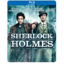 Sherlock Holmes (Steelbook) Blu-ray Cover