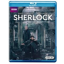Sherlock: Season 4 Blu-ray Cover