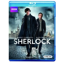 Sherlock: Season Two Blu-ray Cover