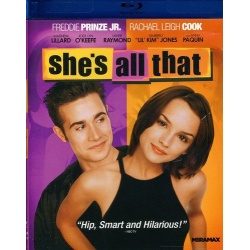 She's All That Blu-ray Cover