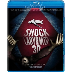 Shock Labyrinth 3D Blu-ray Cover