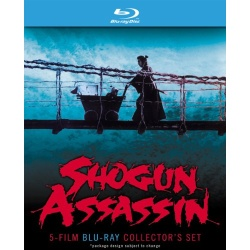 Shogun Assassin: 5 Film Collector's Set Blu-ray Cover