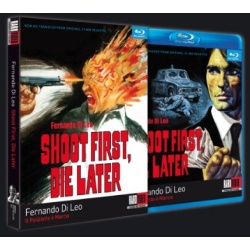 Shoot First Die Later Blu-ray Cover