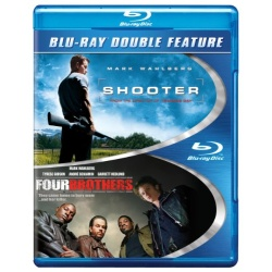 Shooter / Four Brothers Blu-ray Cover