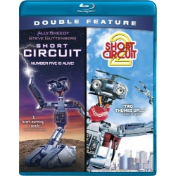 Short Circuit / Short Circuit 2 Blu-ray Cover