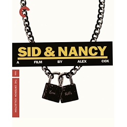 Sid and Nancy Blu-ray Cover