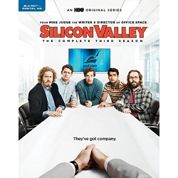 Silicon Valley: The Complete 3rd Season Blu-ray Cover