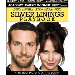Silver Linings Playbook Blu-ray Cover
