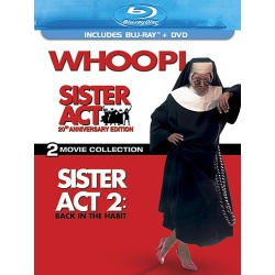 Sister Act: Two Movie Collection Blu-ray Cover