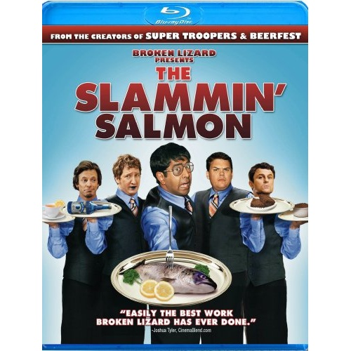 The Slammin' Salmon Blu-ray Disc Title Details - 013132139098 - Blu ...