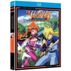 Slayers: Season Four & Five - Classic Blu-ray Cover