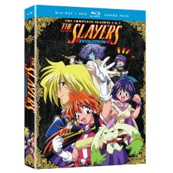 Slayers: Season Four & Five Blu-ray Cover