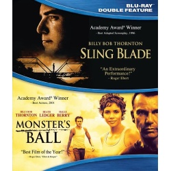 Sling Blade / Monster's Ball Blu-ray Cover