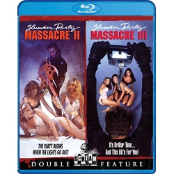 Slumber Party Massacre II / Slumber Party Massacre III Blu-ray Cover