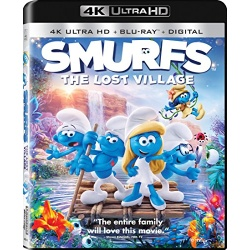 Smurfs: The Lost Village Blu-ray Cover