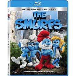 Smurfs Blu-ray Cover