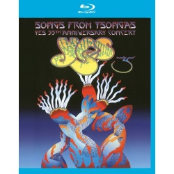 Songs from Tsongas: Yes 35th Anniversary Concert Blu-ray Cover
