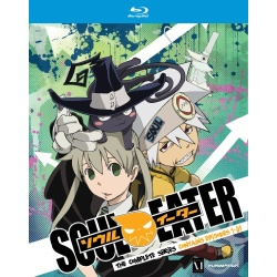 Soul Eater: The Complete Series Blu-ray Cover