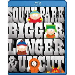 South Park: Bigger, Longer & Uncut Blu-ray Cover