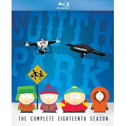 South Park Season 18 Blu-ray