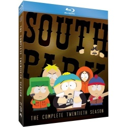 South Park: The Complete Twentieth Season Blu-ray Cover