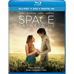 Space Between Us Blu-ray Cover