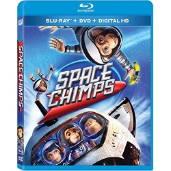 Space Chimps Blu-ray Cover