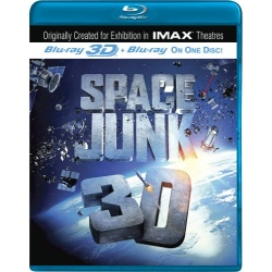 Space Junk 3D Blu-ray Cover