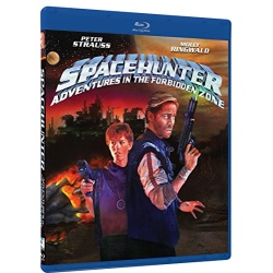 Spacehunter: Adventures in the Forbidden Zone Blu-ray Cover