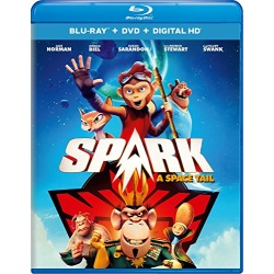 Spark: A Space Tail Blu-ray Cover