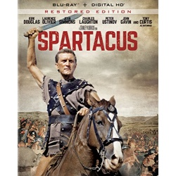 Spartacus Blu-ray Cover