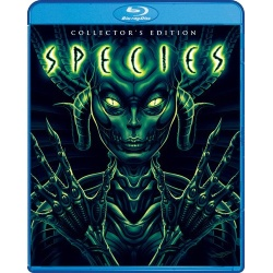 Species Blu-ray Cover