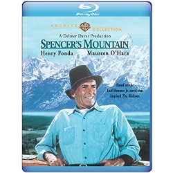 Spencer's Mountain Blu-ray Cover