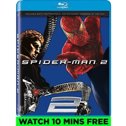 Spider-Man 2 Blu-ray Cover