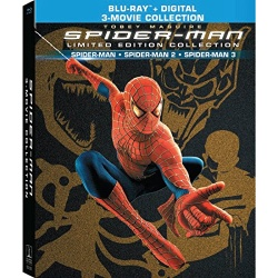 Spider-Man: Limited Edition Collection Blu-ray Cover