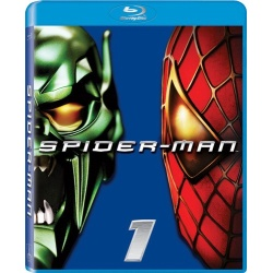 Spider-Man Blu-ray Cover