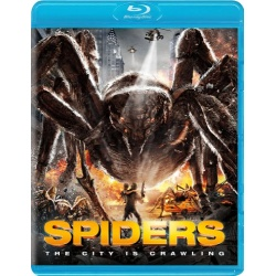 Spiders Blu-ray Cover