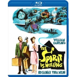 Spirit is Willing Blu-ray Cover