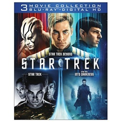 Star Trek 3 Movie Collection Blu-ray Cover