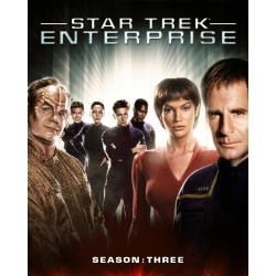 Star Trek: Enterprise - Season 3 Blu-ray Cover
