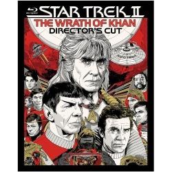 Star Trek II: The Wrath of Khan Blu-ray Cover