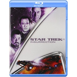 Star Trek IX: Insurrection Blu-ray Cover