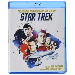 Star Trek: Original Motion Picture Collection Blu-ray Cover