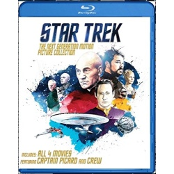 Star Trek: The Next Generation Motion Picture Collection Blu-ray Cover